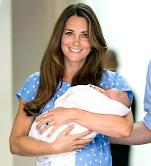 "Kate Middleton Told Friends She Had ""Perfect,"" ""Natural"" Birth With Baby Prince George"