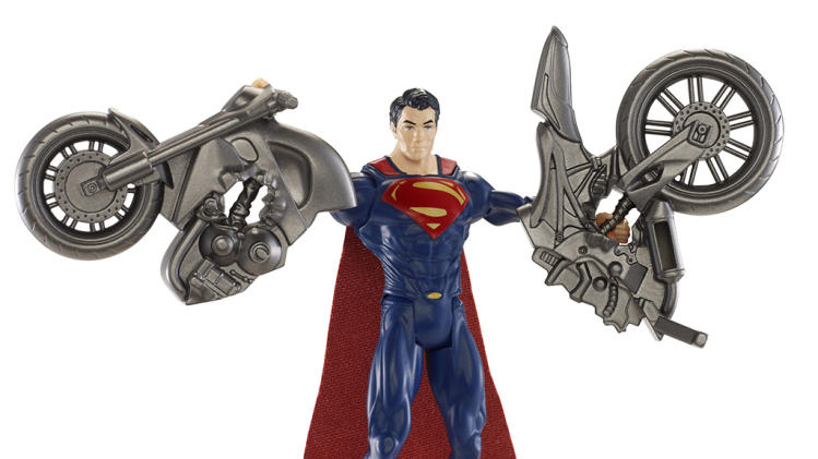 'Man of Steel' Split Cycle Figure