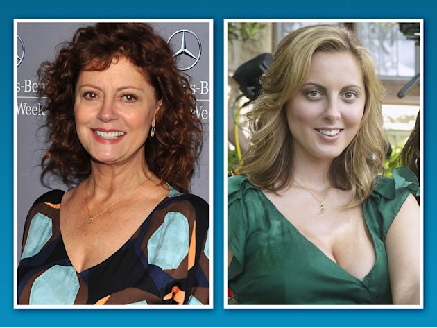 Susan Sarandon and Eva Am …