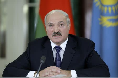 Belarus' Lukashenko dismisses prime minister and top ministers