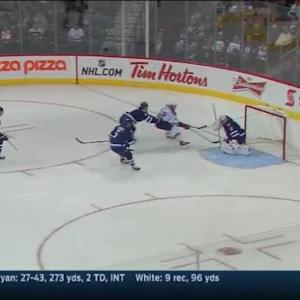 Ondrej Pavelec Save on David Backes (01:33/3rd)