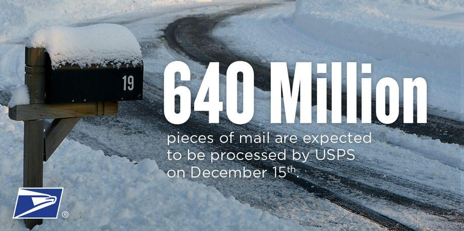 What is the busiest mailing day of the year?