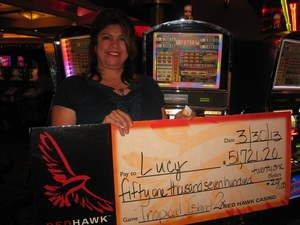 Red Hawk Casino Player Wins $51,721 in Minutes