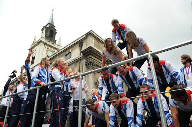 Olympics & Paralympics Team GB - London 2012 Victory Parade