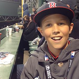 Young Sox fan recounts snag of Big Papi long ball