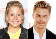 Shawn Johnson, Derek Hough | Photo Credits: Charles Eshelman/FilmMagic, Kevin Winter/Getty Images