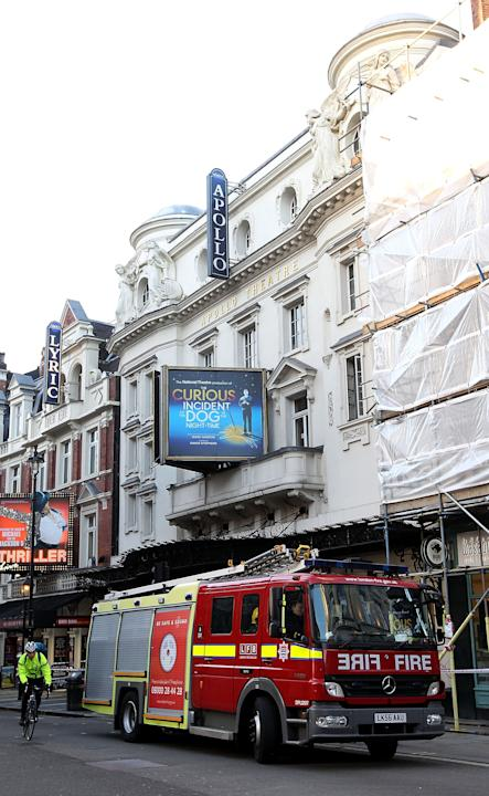 The Roof Of The London Apollo Theatre Collapses During A Performance