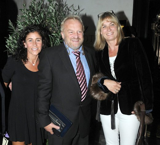 Antony Worrall Thompson enjoyed a nightout at Scotts restaurant, London, Uk