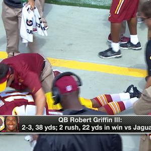 Will Washington Redskins quarterback Kirk Cousins still be the starting quarterback once Robert Griffin III returns?