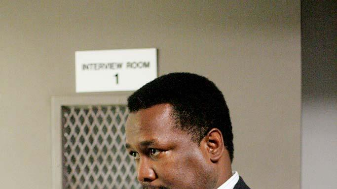 Wendell Pierce in The Wire.