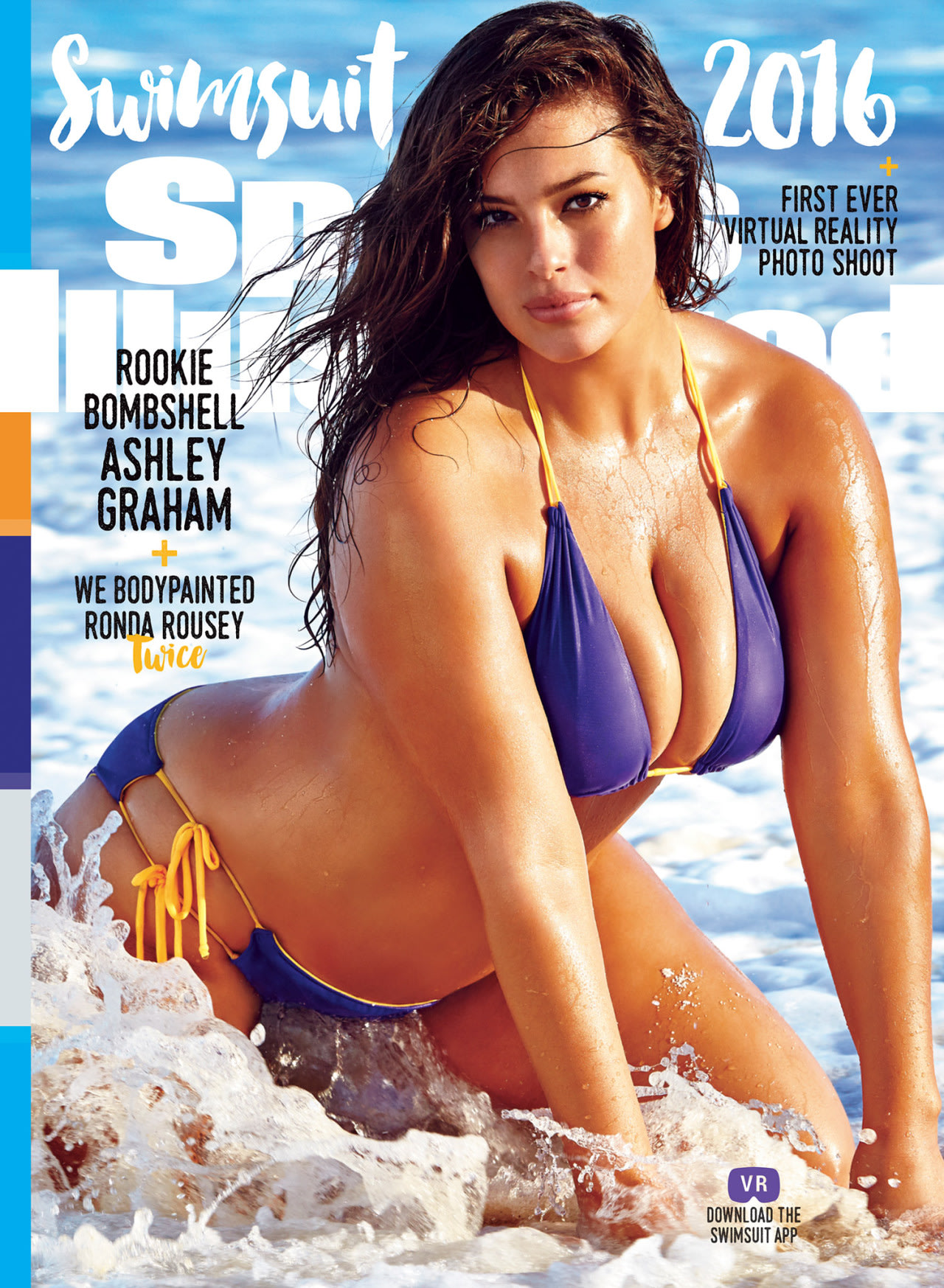 Sports Illustrated Unveils 3 Swimsuit Issue Covers: Ashley Graham, Ronda Rousey, and Hailey Clauson