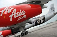 An AirAsia A340 airliner