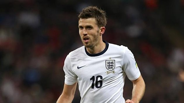 Michael Carrick came into the England side against Poland