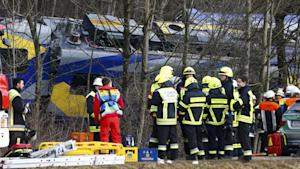 At Least Nine Dead In German Train Collision