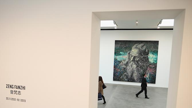 Leading Chinese Contemporary Artist Zeng Fanzhi Opens His First Solo Show In The UK At The Gagosian Gallery