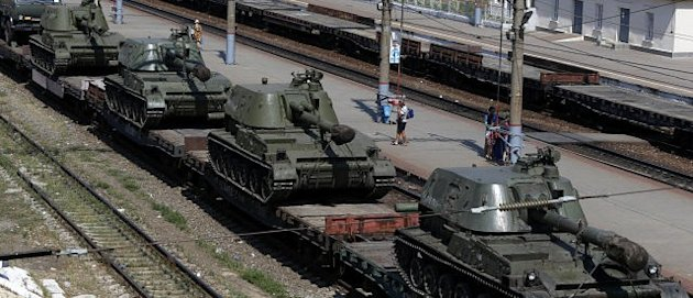NATO Releases Satellite Photos Proving Russia Is Lying About Invading Ukraine