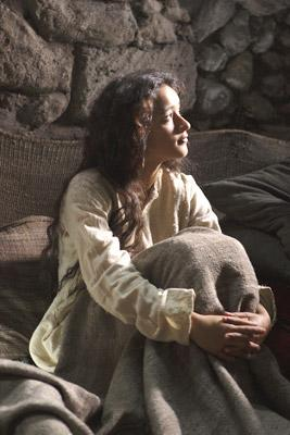Keisha Castle-Hughes as Mary in New Line Cinema's The Nativity Story