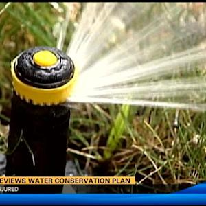 City reviews water conservation plan