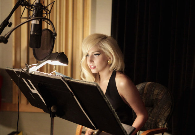 Lady Gaga records Monday Aug. 22 on &quot;The Simpsons.&quot; 