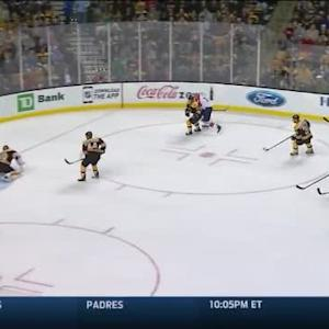 Tuukka Rask Save on Jimmy Hayes (08:45/1st)