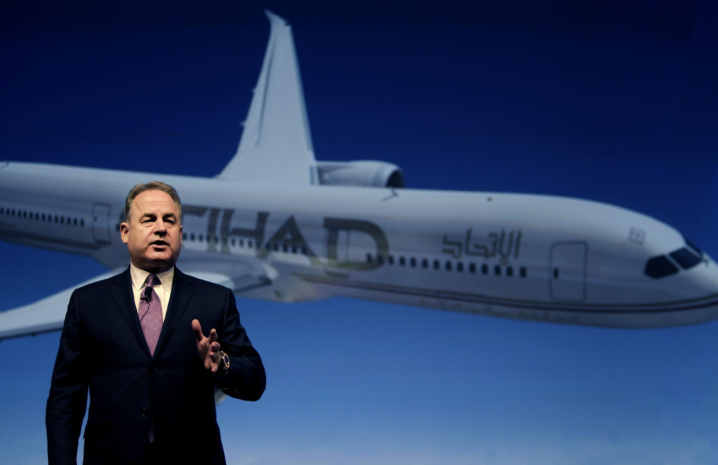 Etihad Airways boss who led acquisition strategy on way out