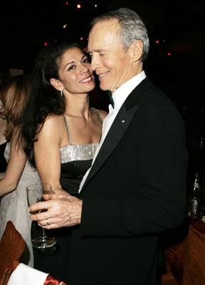 Dina Eastwood and Clint Eastwood The 77th Annual Academy Awards - Governors Ball Hollywood, CA - 2/27/05