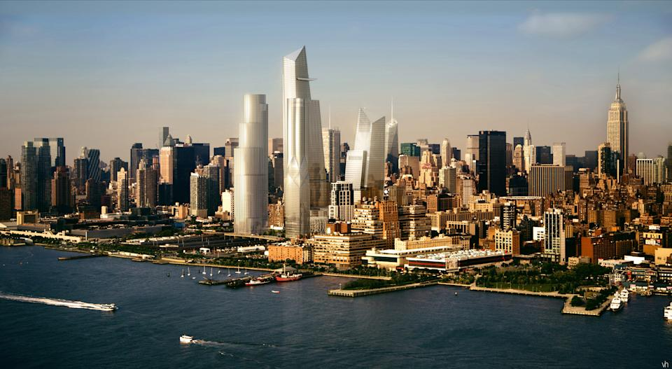 NYC breaks ground on 26-acre Hudson Yards project