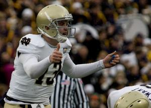 Notre Dame Working Two QB System to Perfection: A Fan's Take