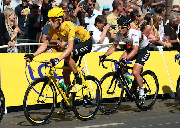 -	Cycling: Britain's Bradley Wiggins won the 2012 Tour de France before clinching gold medla at the London Olympics.
