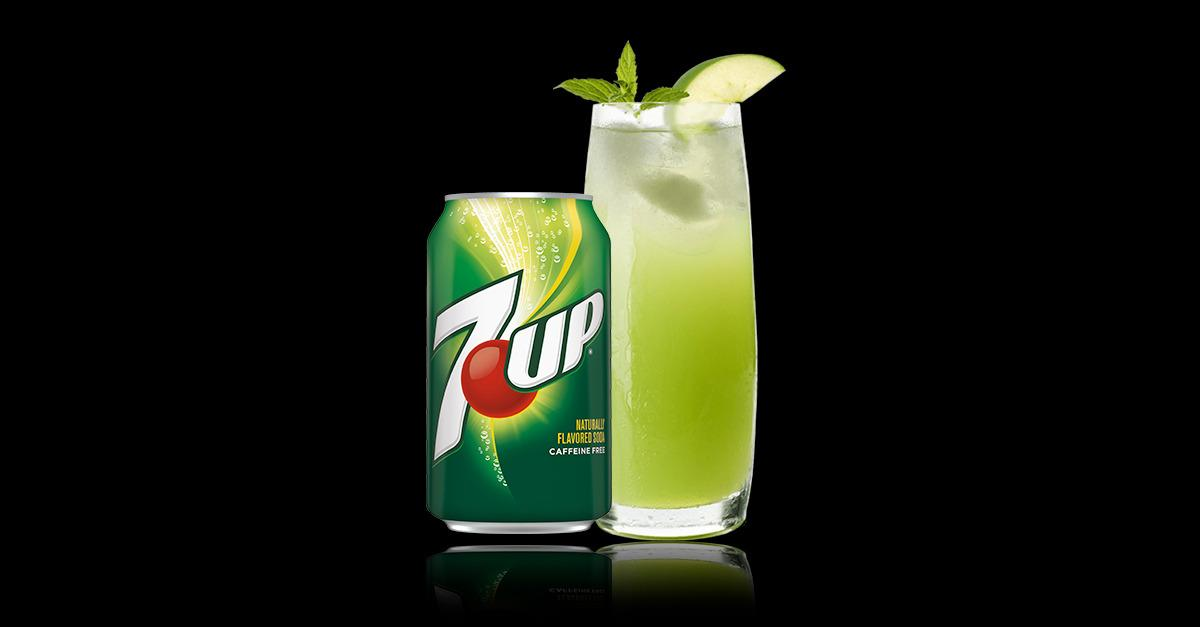 Mix It UP With the Crisp, Clear Taste of 7UP®