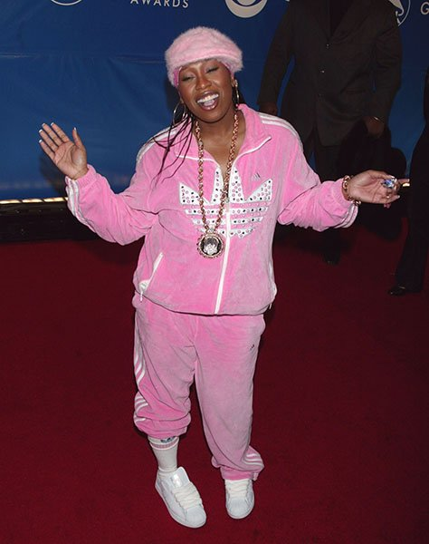 Missy Elliot looked