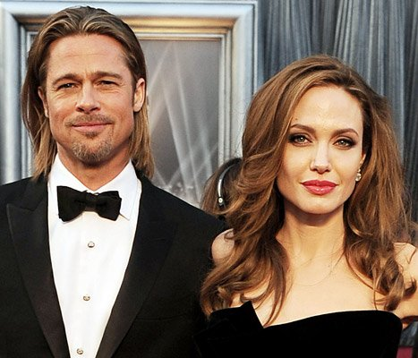 Angelina Jolie, Brad Pitt Have Valentine&#39;s Day Date With Twins Vivienne and Knox -- at Natural History Museum