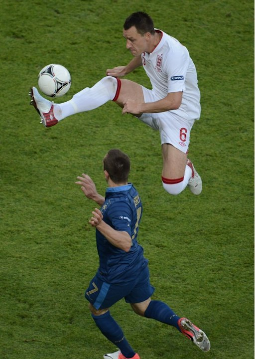 English Defender John Terry …