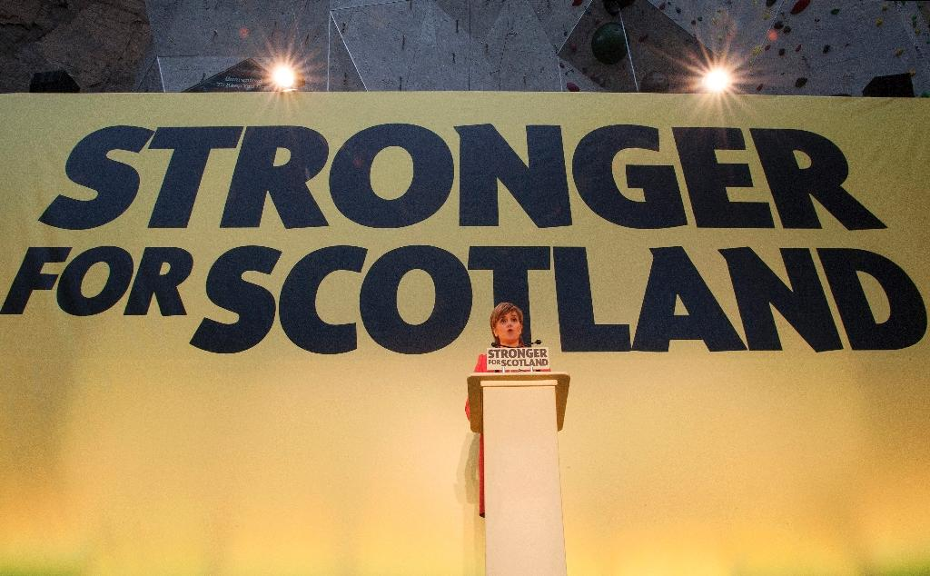 Eyeing power, SNP launches British election manifesto