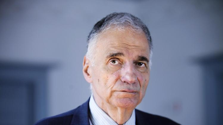 FILE - In this Aug. 20, 2009 file photo, former independent presidential candidate Ralph Nader poses for a photo in Washington. Maine's highest court is hearing oral arguments Wednesday, April 10, 2013, in an ongoing lawsuit pitting Nader against the Maine Democratic Party and allied organizations. (AP Photo/Jacquelyn Martin, File)