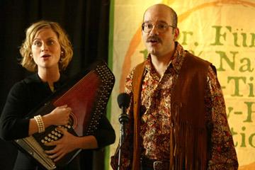 Amy Poehler and David Cross Fox's Arrested Development