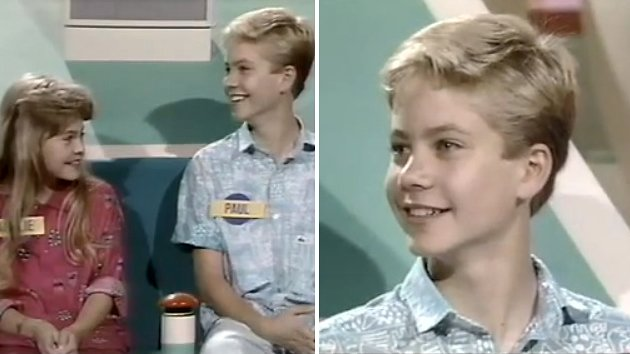 Paul Walker was a kid contestant on an '80s game show (Screengrab from