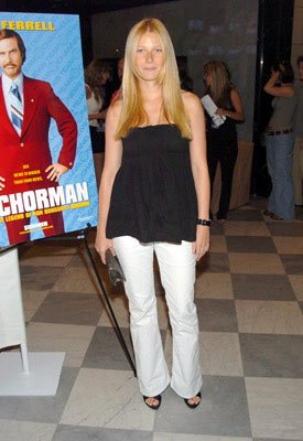 Gwyneth Paltrow at the New York premiere of Dreamworks' Anchorman