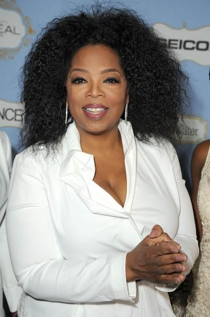 Oprah Winfrey arrives at the 6th Annual ESSENCE Black Women In Hollywood Luncheon at Beverly Hills Hotel on February 21, 2013 in Beverly Hills, Calif. -- Getty Premium