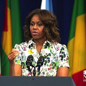 Michelle Obama to African leaders: Focus on girls' education
