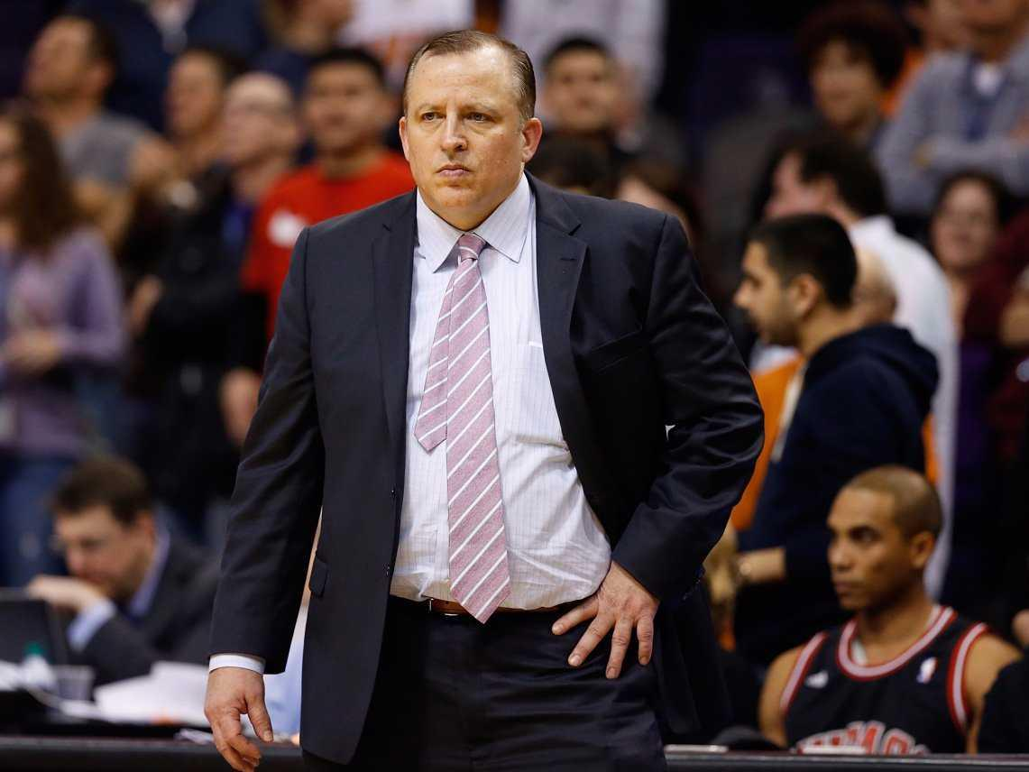 Tom Thibodeau reportedly hadn't talked to Bulls management in 4 months, and players were starting to turn on him before he was fired