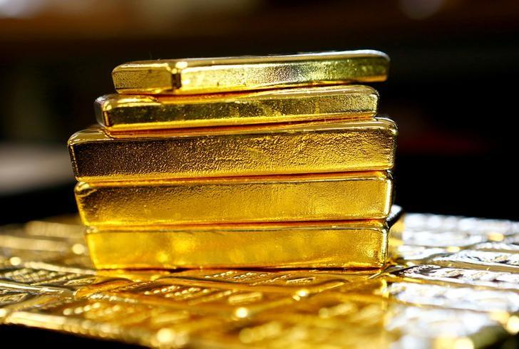 Gold hits two-month high on Trump policy uncertainty, dollar drop