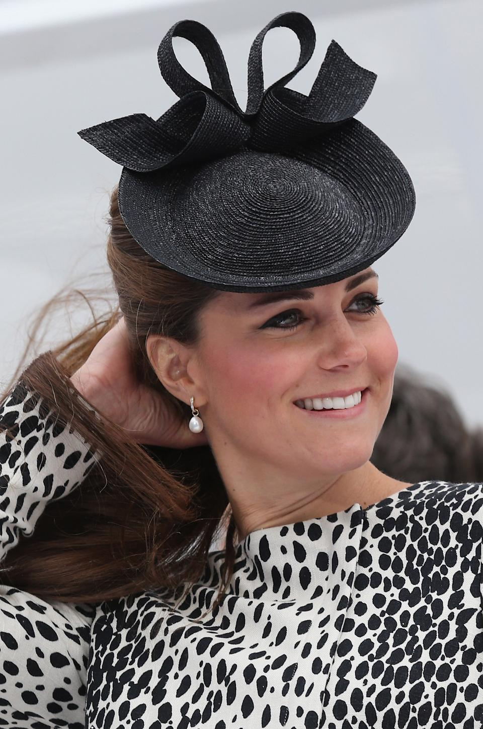 Kate formally names Royal Princess cruise ship