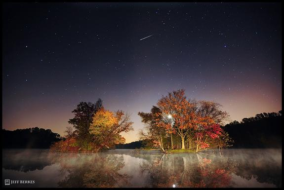 Meteor Shower Created by Halley's Comet Peaks This Week