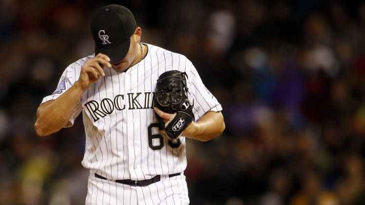 MLB: New York Yankees at Colorado Rockies