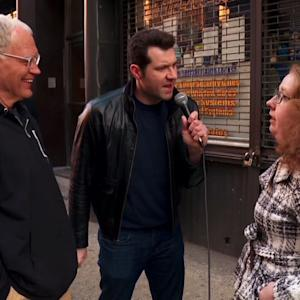 David Letterman Goes 'On The Street' With Billy Eichner