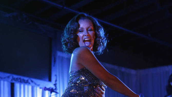 "Vanessa Williams performs at the ""Better With M"" Kick-Off Event on Thursday, Jan. 31, 2013 in New Orleans. (Jonathan Bachman / AP Images for Mars Chocolate North America)"