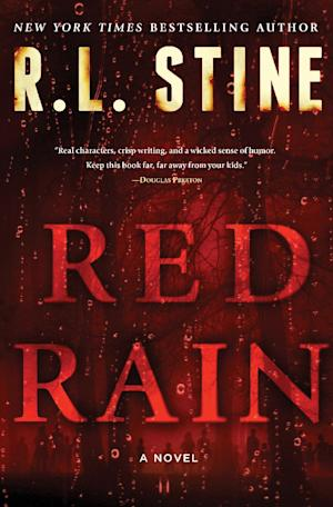 "This book cover image released by Touchstone shows ""Red Rain,"" by R.L. Stine. (AP Photo/Touchstone)"
