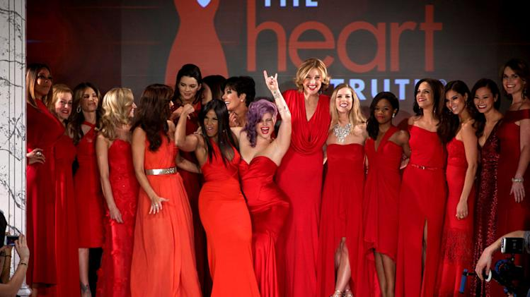 The Heart Truth's Red Dress Collection - Runway - Fall 2013 Mercedes-Benz Fashion Week