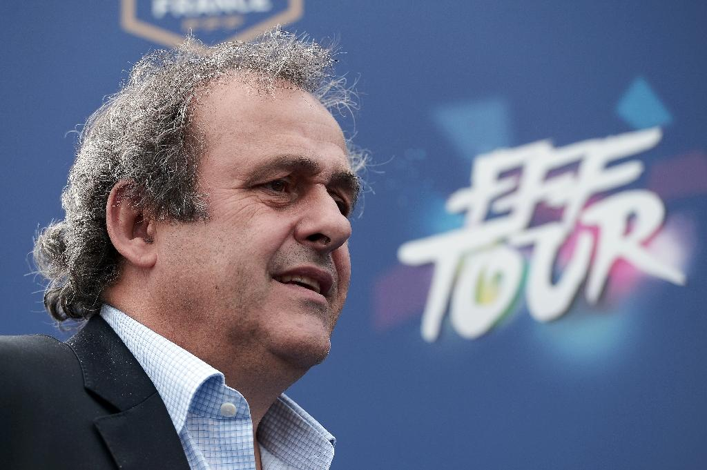 Israel appeals to Platini to sway FIFA from Palestinian suspension bid